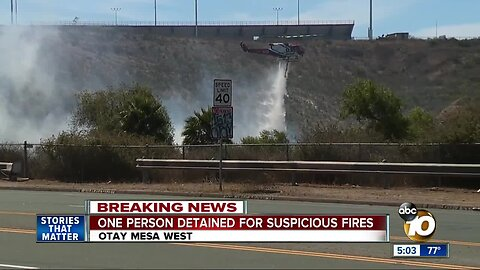 Suspected arsonist arrested for vegetation fires in Otay Mesa West