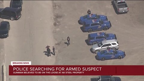 Police looking for armed & dangerous individual at AK Steel in Dearborn, Ford buildings on lockdown