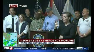 Gov. Scott urges Floridians to evacuate - Video