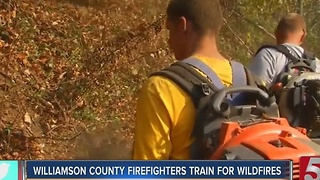 Middle Tennessee Firefighters Train To Fight Wildfires - Video
