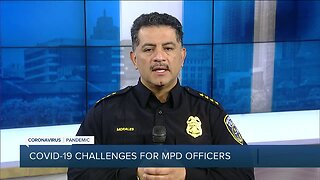 Milwaukee Police Chief Alfonso Morales on 'Safer at Home' enforcement