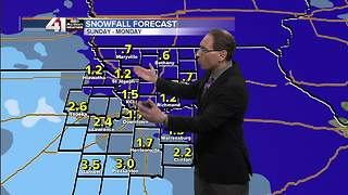 Jeff Penner Saturday Afternoon  Forecast Update 13 18 - Video
