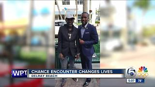 Suit for Seniors: Chance encounter changes lives - Video