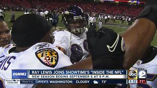 Ray Lewis joins Showtime's 'Inside the NFL' - Video