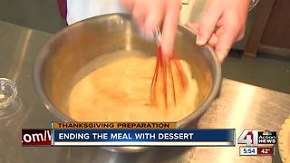 Recipe: Pumpkin pie to top off your Thanksgiving meal - Video
