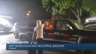 ATF searches for arson investigation suspects