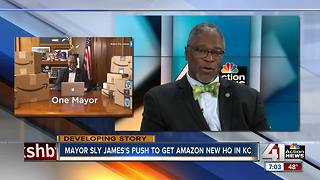 ONLY ON 41: Kansas City Mayor Sly James talks Amazon pitch with 41 Action News - Video