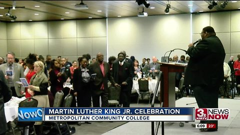 MTRO coMMUNITY cOLLEGE CELEBRATES mARTIN lUTHER kING jR.