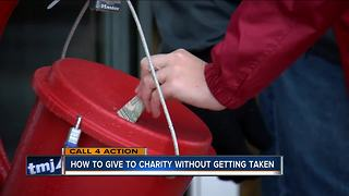 How to give to charity without getting taken - Video