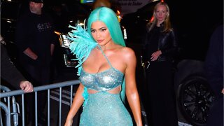 Kylie Jenner Debuts Neon Orange Natural Nail Manicure
