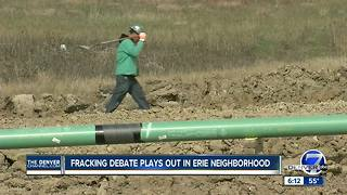 Erie neighbors concerned about new gas pipeline close to homes - Video