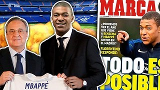 Has Kylian Mbappe Reached A Secret Agreement With Real Madrid?! - Video