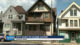 City of Milwaukee sues property owner in latest effort to shutter drugs and prostitution - Video