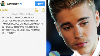 Lonely Justin Bieber Posts Emotional Message After 2018 Met Gala - Video