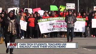 Full coverage: School walkouts happening in metro Detroit, across US