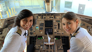 Mother-Daughter Duo Go Viral After Co-Piloting Flight Cross-Country
