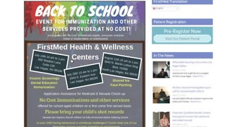 Free back-to-school immunizations for kids