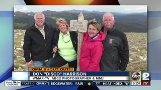 Reporter Don 'Disco' Harrison gives a GMM shout out - Video