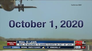 REAL ID LAWS GO INTO EFFECT OCT1ST 2020
