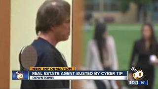 Real estate agent busted by cyber tip