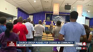 Church group pushes for change in community - Video
