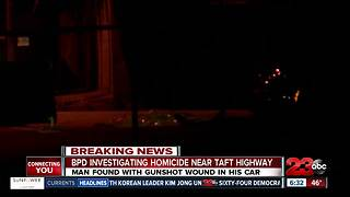 Man shot while driving in southwest Bakersfield