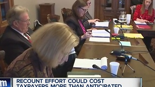 Recount cost could top $2 million - Video