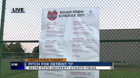 Pitch For Detroit