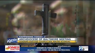 Baltimore archbishop meets with church leaders to discuss church reform and renewal