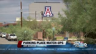 New parking help near UA - Video
