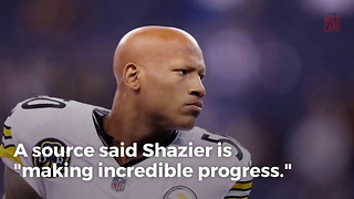 Ryan Shazier Making Incredible Progress, Already Walking - Video