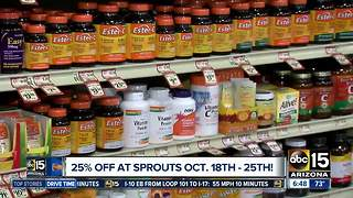 25% off at Sprouts! - Video