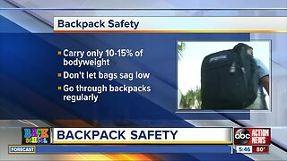 Choosing the right type of backpack for your child