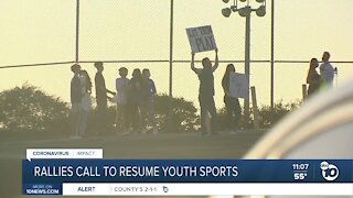 Rallies call to resume youth sports