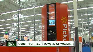 Walmart launches high-tech self service kiosks - Video