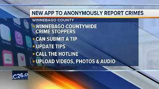 Winnebago Countywide Crime Stoppers launches mobile app - Video