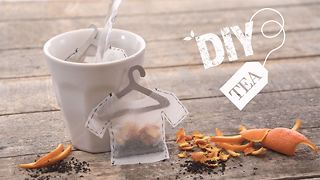 DIY Tea: Orange and black tea-shirt (pun intended) - Video