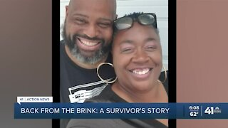 Back from the brink: A COVID-19 survivor's story