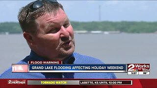 Grand Lake flooding threatening Memorial Day business
