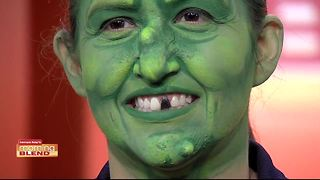 The Morning Blend gives some tips for painting your face this Halloween - Video