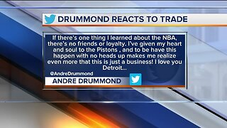 Pistons trade Drummond to Cavaliers at deadline