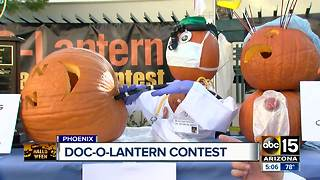 Doc-O-Latern contest at Dignity Health - Video