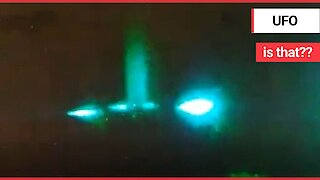Security Guard Claims To Have Spotted UFO After Capturing Convincing Footage