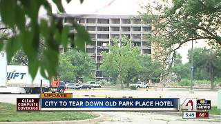 Abandoned Kansas City hotel set for demolition at taxpayer expense
