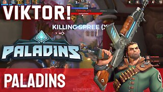 Viktor! Paladins PC - Let's Play Episode 1