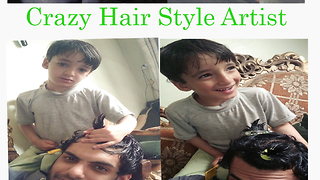 Lets see when this little Kid Give me Hairstyle  - Video