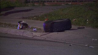 1 person transported in critical condition after crash at the intersection of Woodhill Road, Woodland Avenue