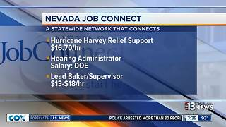 Nevada Job Connect listings for Sept. 18 - Video