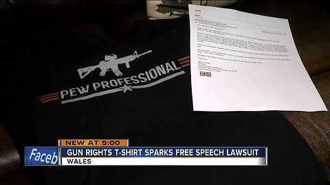 Kettle Moraine High School barred students from wearing pro-gun t-shirts, parents argue in lawsuit