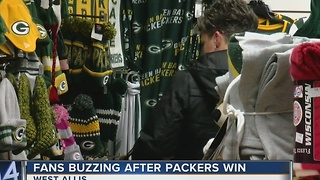 Excitement builds for Packers fans